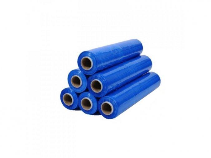 Balící folie ruční modrá 500 x 115m 23my aldivex