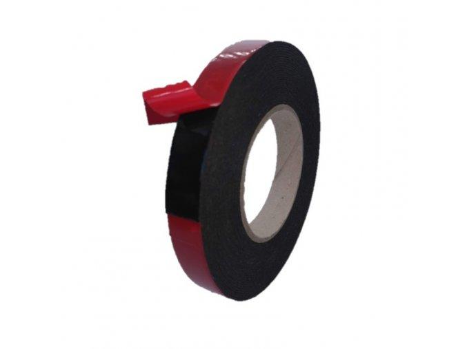 Oboustranná pěnová páska 1 mm x 19 mm x 5 m , černá aldivex