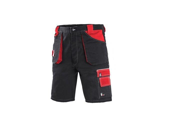Kraťasy CXS ORION DAVID, pánské, černo-červené