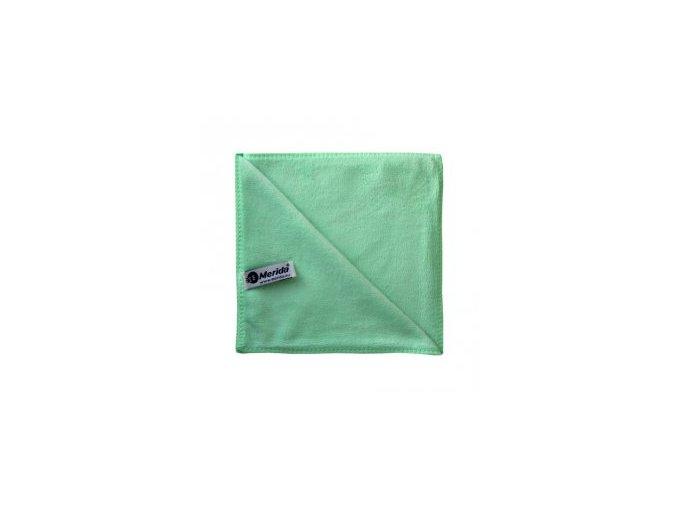 Utěrka PREMIUM z mikrovlákna zelená Aldivex