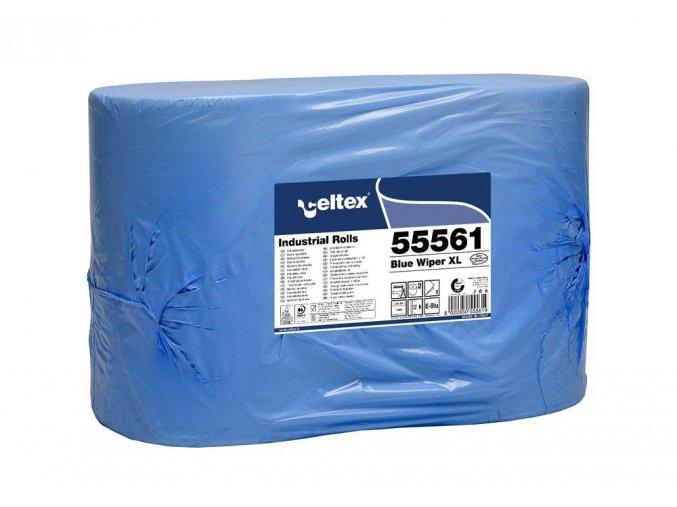PRŮMYSLOVÁ PAPÍROVÁ UTĚRKA CELTEX BLUE WIPER XL1000, ŠÍŘKA 36CM, 2VRSTVY 2KS Aldivex