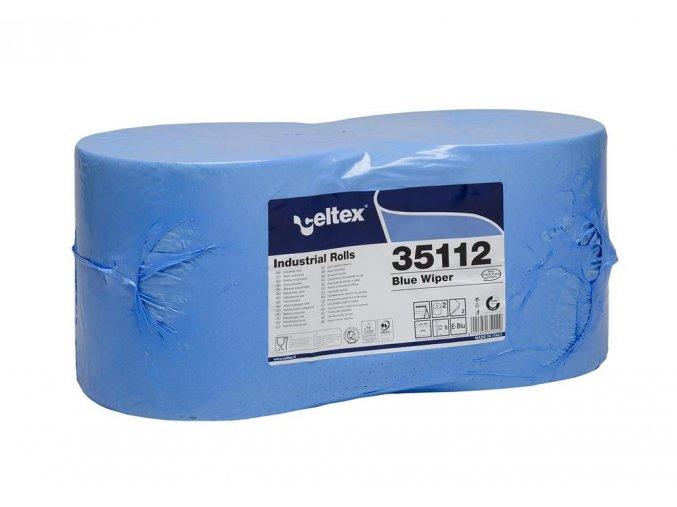 PRŮMYSLOVÁ PAPÍROVÁ UTĚRKA CELTEX BLUE WIPER 970, ŠÍŘKA 24CM, 2VRSTVY 2KS Aldivex