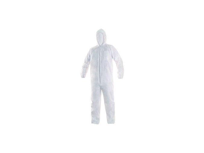 Jednorázový oblek CXS OVERAL, bílý, vel. L