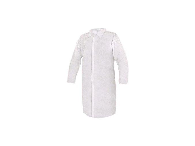 Plášť jednorázový CXS RICK, bílý, vel. XL