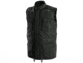 Pánská zimní vesta OHIO, černá