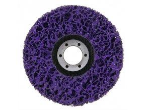 Kotouč brusný nylonový porézní purple 125x22,2mm aldivex