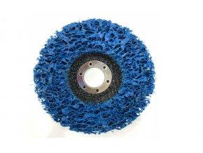 Kotouč brusný nylonový porézní blue 125x22,2mm aldivex