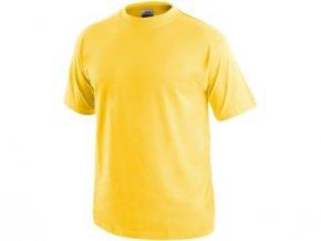 Tričko s krátkým rukávem DANIEL, žluté