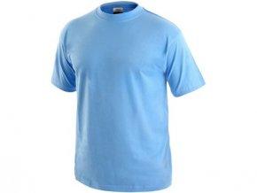 Tričko s krátkým rukávem DANIEL, nebesky modré