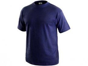 Tričko s krátkým rukávem DANIEL, tmavě modré