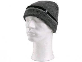 Zimní čepice CXS IVAN, šedo-černá