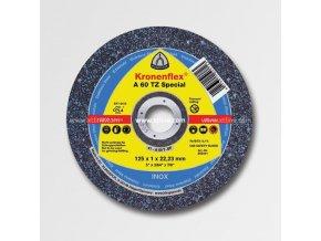 KL202401 KLINGSPOR Řezný kotouč A60TZ 125x1 NEREZ OCEL Aldivex