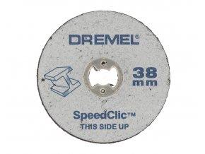 Řezací kotouč, rozměr 38x1,2mm, Dremel Aldivex s.r.o.