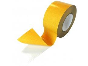 Oboustranná páska 40 mmx50m , PVC bílá Aldivex