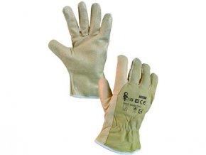 Kožené rukavice ASTAR, vel. 09
