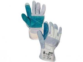 Kombinované rukavice FALCO, vel. 10