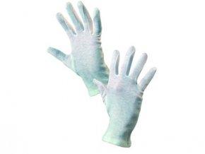 Textilní rukavice FAWA, bílé, vel. 11