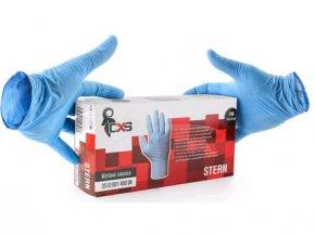 Jednorázové rukavice STERN, nitrilové