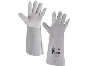 Kožené rukavice HURI, vel. 10