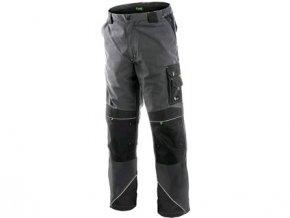 Kalhoty do pasu CXS SIRIUS NIKOLAS, zimní, pánské, šedo-zelené, vel. 44-46