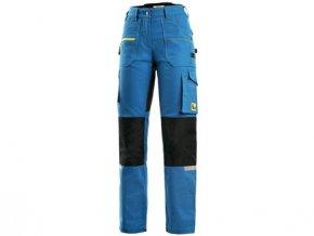 Kalhoty CXS STRETCH, dámské, středně modro - černé