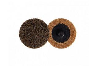 Kotouč brusný Roloc 50mm, lisovaná textilie hrubá, Coarse aldivex