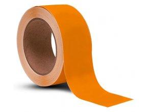 L1113 Podlahová vyznačovací páska 100 mm x 33 m oranžová Aldivex