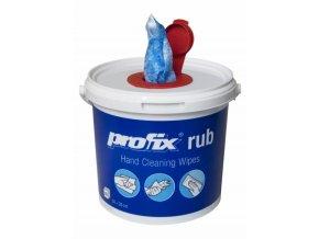 Vlhčené technické utěrky s abrazivy bal. kbelík aldivex
