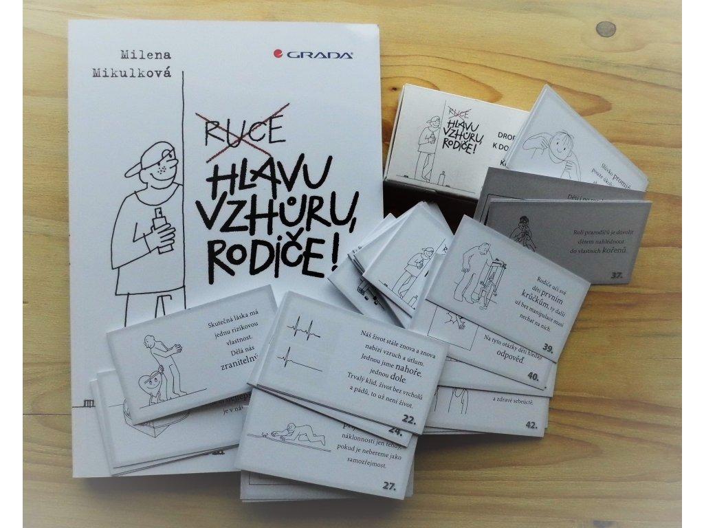 Sada kniha a karty pro rodiče