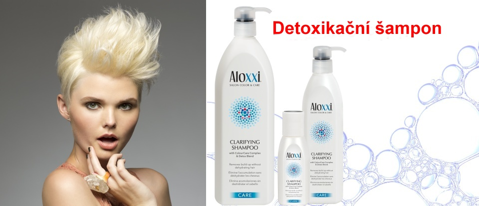 Detoxikační šampon