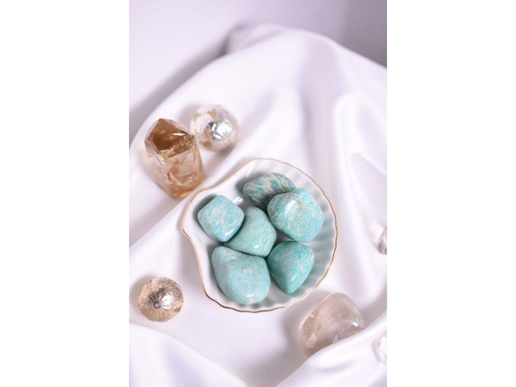Amazonit troml (klid na duši, rovnováha, harmonie)