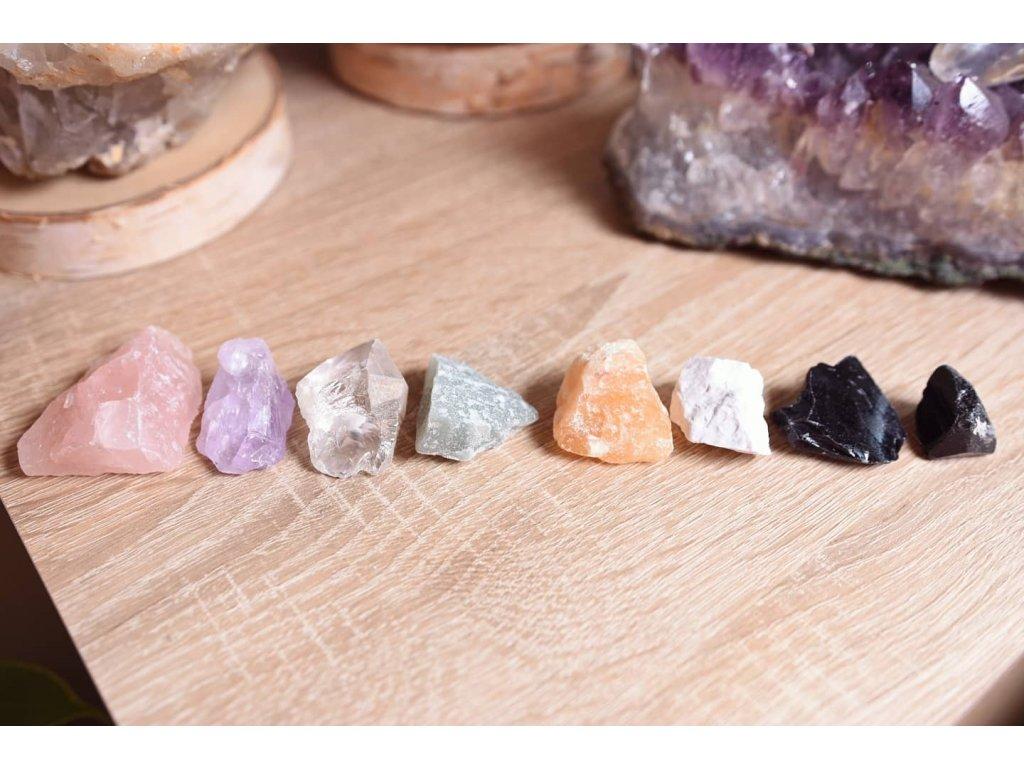 Set drahých kamenů poskládaný na míru dle vašich přání či konkrétních problémů
