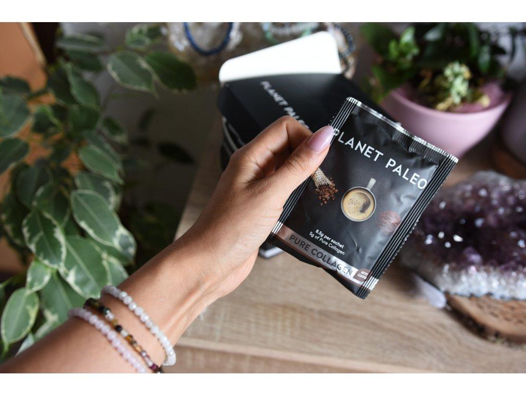 PLANET PALEO čistý kolagen KETO KÁVA (tělesná kondice, elasticita pokožky, vlasy, nehty)
