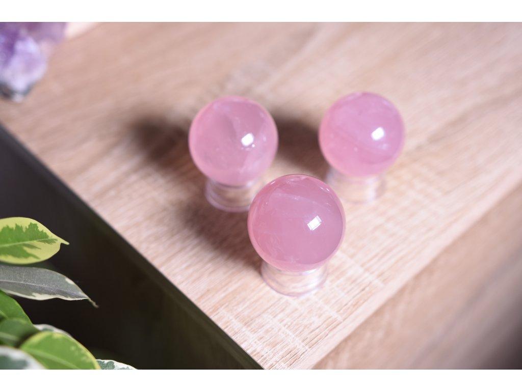 Uklidňující koule růženín AAA kvalita velikost L (posílení sebelásky a klid) ASTERICKÝ RŮŽENÍN