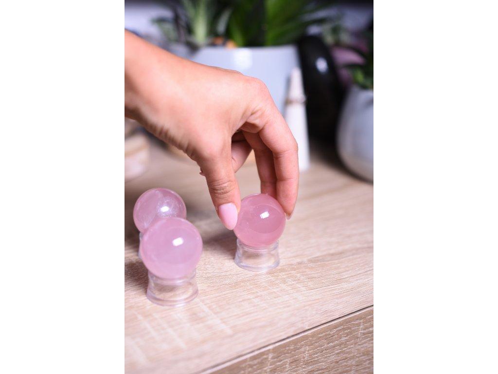 Uklidňující koule růženín AAA kvalita velikost S (posílení sebelásky a klid) ASTERICKÝ RŮŽENÍN