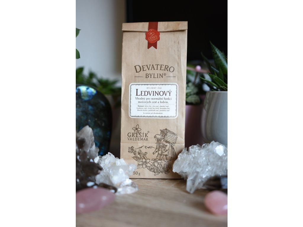 Ledvinový čaj pro posílení ledvin i vztahů 50g