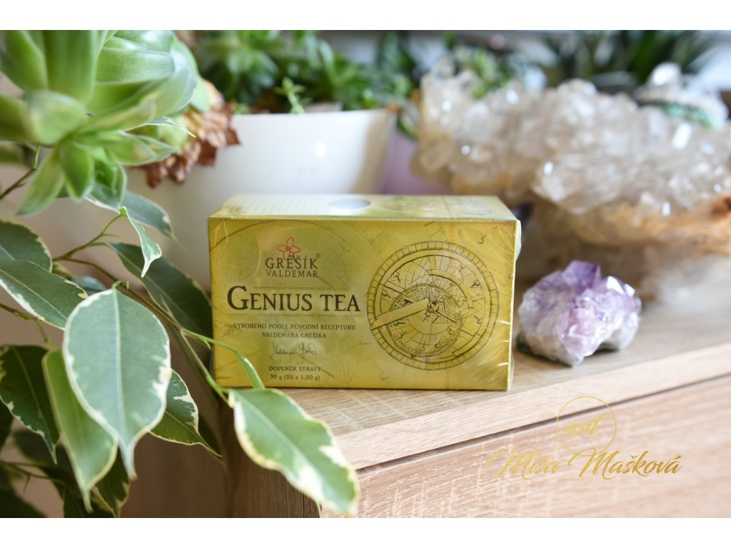 Genius Tea pro normální činnost mozku