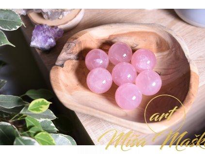 Uklidňující koule růženín AAA kvalita velikost XL (posílení sebelásky a klid) ASTERICKÝ RŮŽENÍN