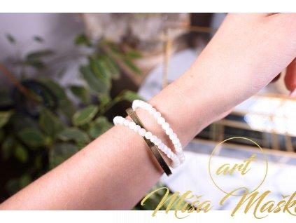Přírodní perleť 4mm (něha, půvab, jemnost, odpuštění minulosti)