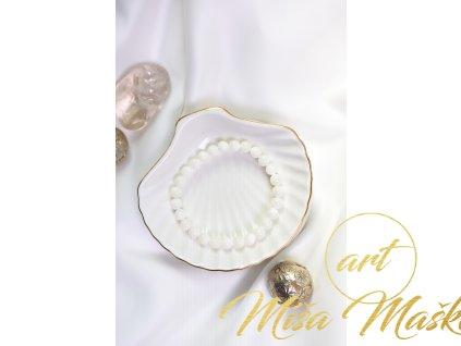 Přírodní perleť 8mm (něha, půvab, jemnost, odpuštění minulosti)