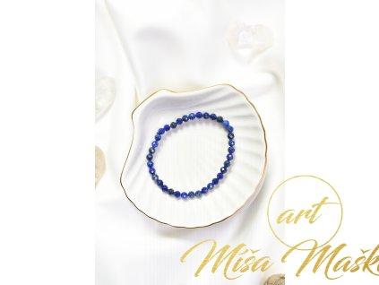 Lapis lazuli 5mm fazetovaný (duchovno, kámen mudrců)