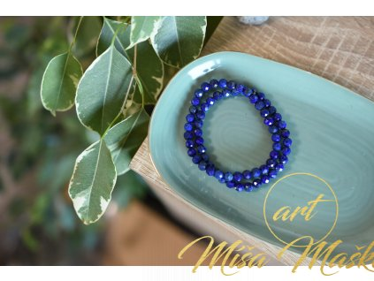 Lapis lazuli 6mm fazetovaný (duchovno, kámen mudrců)