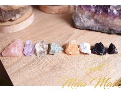 Set drahých kamenů poskládaný na míru dle vašich přání či konkrétních problémů/do domu nebo bytu či pracovny