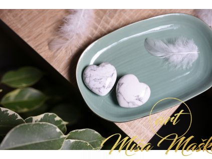 Magnezit srdíčko (klid, meditace, duchovno)