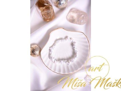Magnezit sekaný náramek (klid, meditace, harmonie, pokora, zuby)