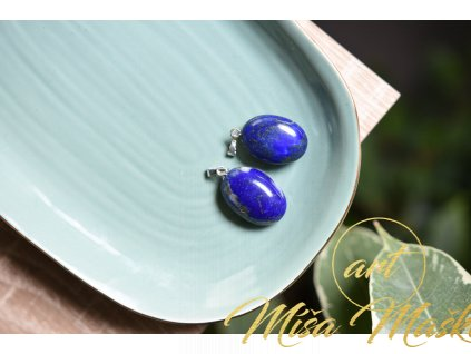 Lapis lazuli přívěsek kabonoš AA kvalita (duchovno, ochrana, kámen mudrců)