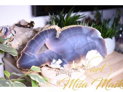 Nádherný řezaný a leštěný achát AA extra kvalita (ochrana, duchovno, příroda, energie) 6,5 kg