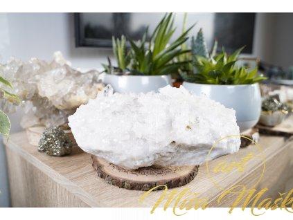 Krásná křišťálová drúza AAA kvalita (síla, ochrana, meditace, univerzálnost) č.42 3,7 kg