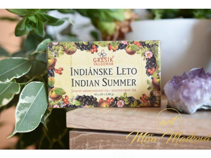 Indiánské léto (radost a chuť žít)