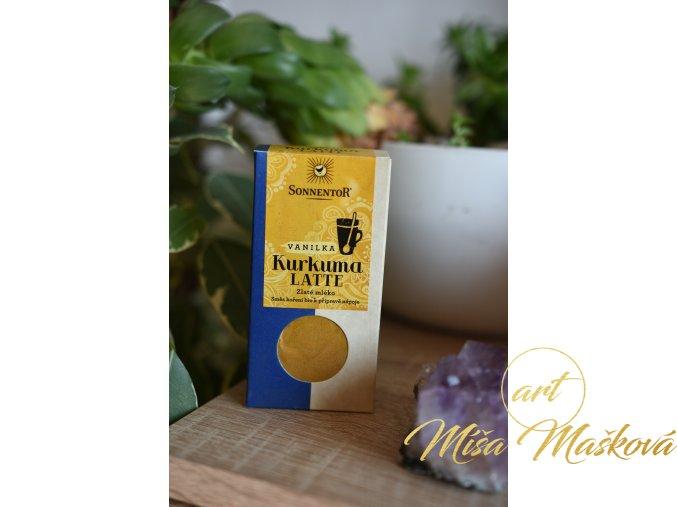 Kurkuma Latte vanilka BIO ZLATÉ MLÉKO 60g